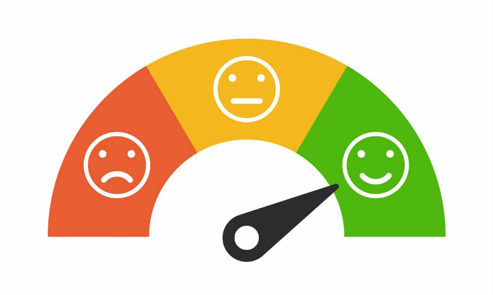 good customer experience green happy