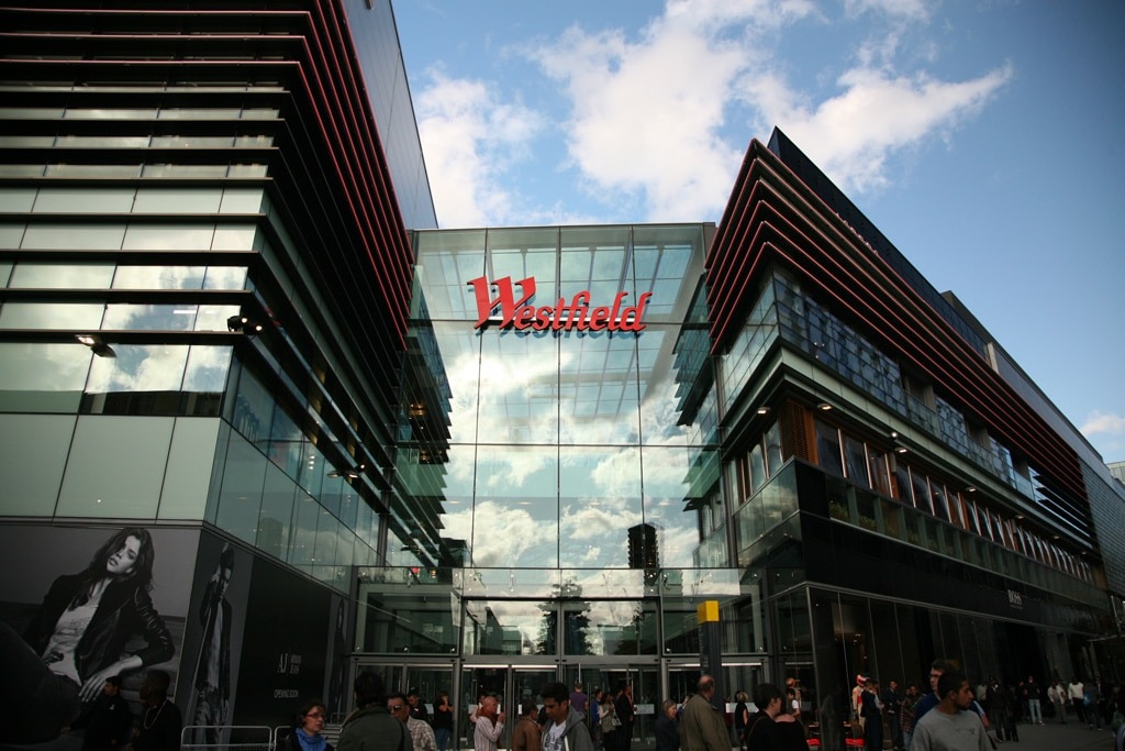 Westfield shopping centre - NotLost