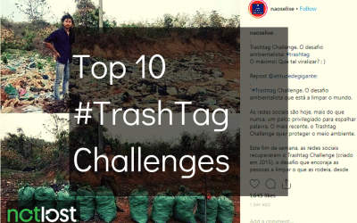 Top 10 #TrashTag challenges (so far)
