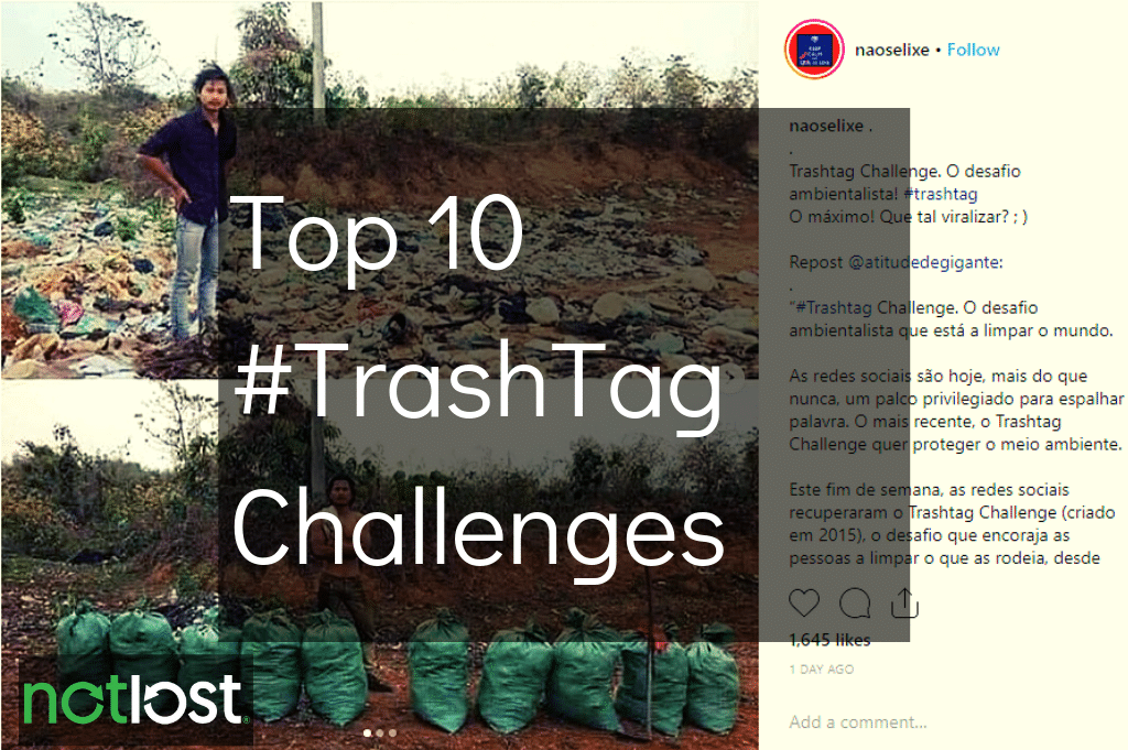 Top 10 #Trashtag challenges feature image