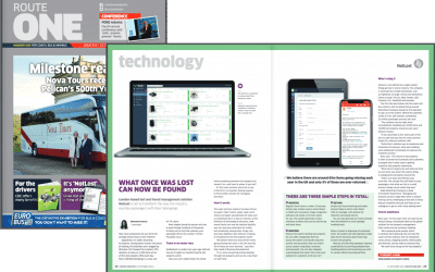NotLost's lost property solution featured in latest routeone magazine