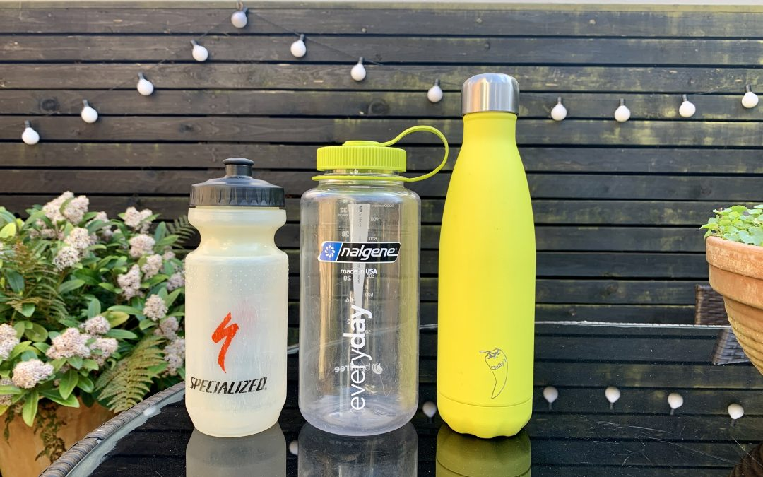 How to sustainably dispose of a reusable water bottle