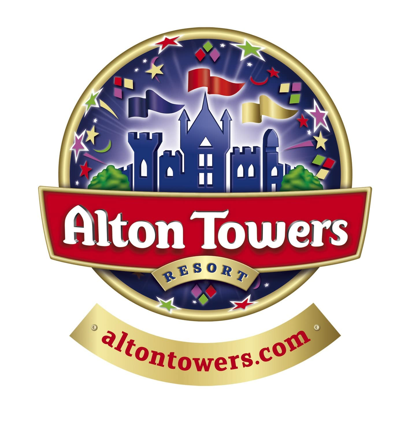 Alton Towers logo lost and found