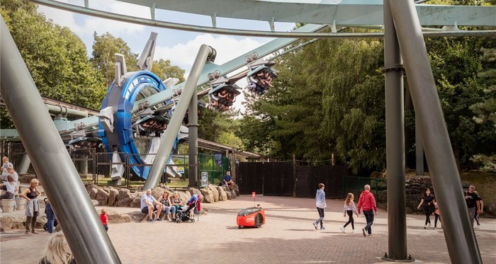 Coca-cola robot alton towers improve customer experience