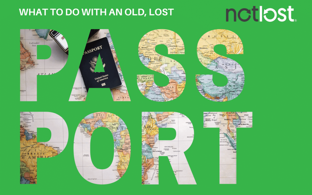 What To Do With An Old, Lost Passport in Your Lost Property
